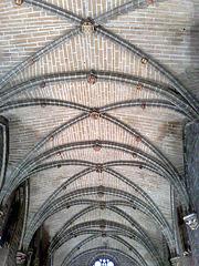 Catedral de Pamplona. Bóveda del Refectorio.