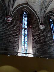 Catedral de Pamplona. Vidriera del Refectorio.