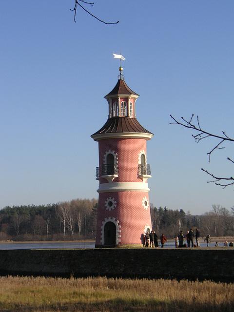 Leuchtturm bei Moritzburg