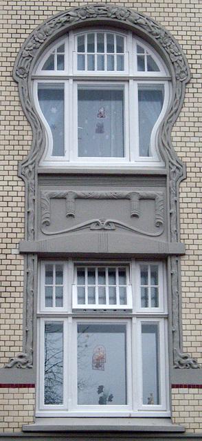 Jugendstilfenster in Neumünster
