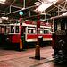DPP #s88, 275, & 297, Prague Public Transport Museum, Stresovice, Prague, CZ, 2005