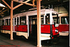 DPP #3063, Prague Public Transport Museum, Stresovice, Prague, CZ, 2005