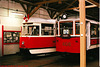 DPP #s 5001 & 608, Prague Public Transport Museum, Stresovice, Prague, CZ, 2005