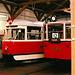 DPP #s 5001 & 608, Prague Public Transport Museum, Stresovice, Prague, CZ, 2005