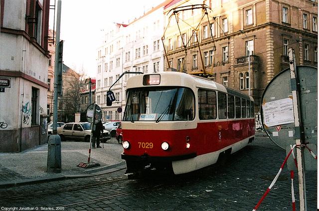 DPP #7029 On Zvonarka Wye, Prague, CZ, 2005