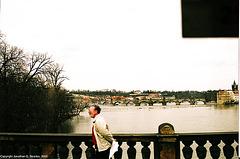 Prague Bridges From Most Legii, Prague, CZ, 2005