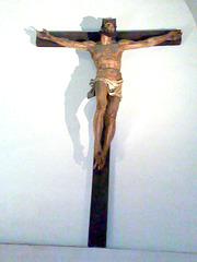 Catedral de Pamplona. Cristo gótico.