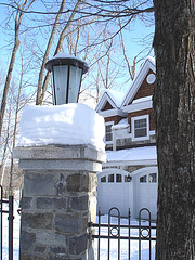 Maison luxueuse / Luxurious house.  St-Benoit-du-lac. Québec. CANADA.