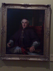 Catedral de Pamplona. Retrato por Vicente López.