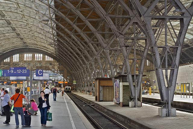 Leipzig Central Station
