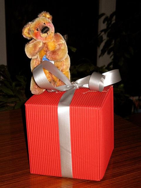 ein geschenk, ein geschenk!