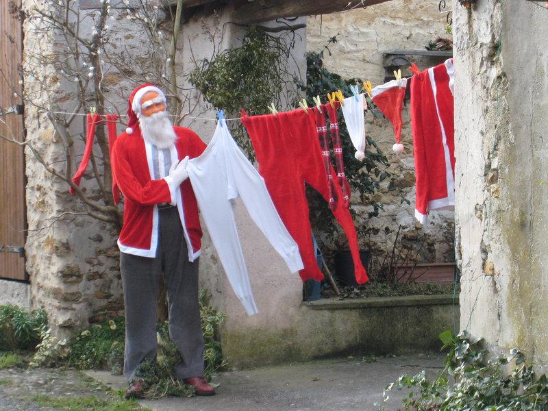 Le Père Noël est rentré à la maison !