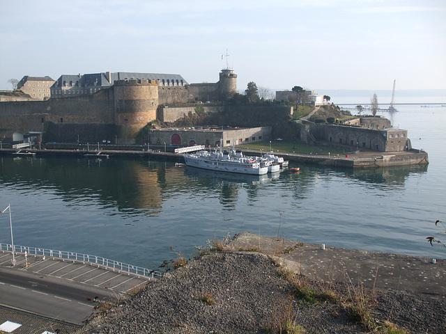 Chateau, Brest, Bretagne, France / DSCF0457