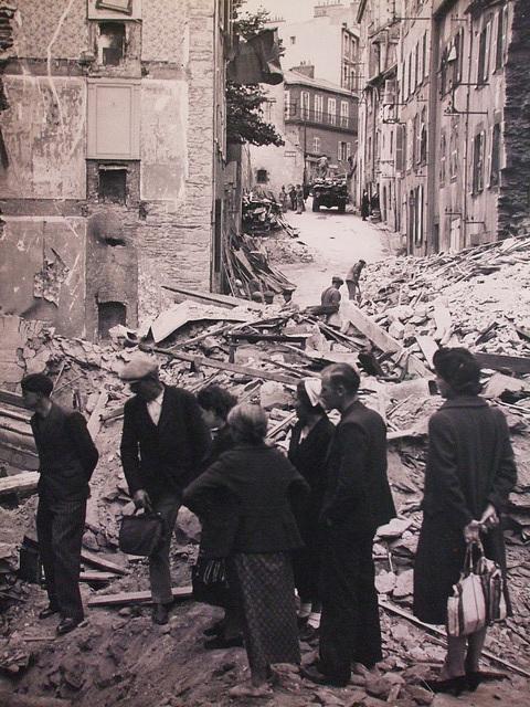 Brest, Bretagne, France apres la guerre / DSCF0478