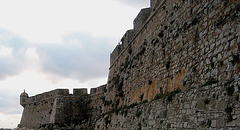 Fort of Peniche, the wall (2)