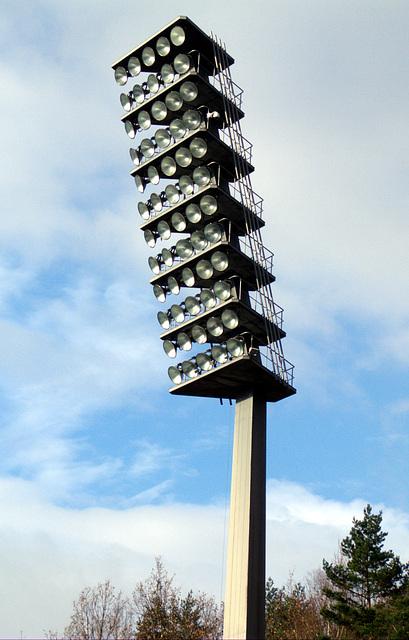Flutlicht Erzgebirgsstadion Aue