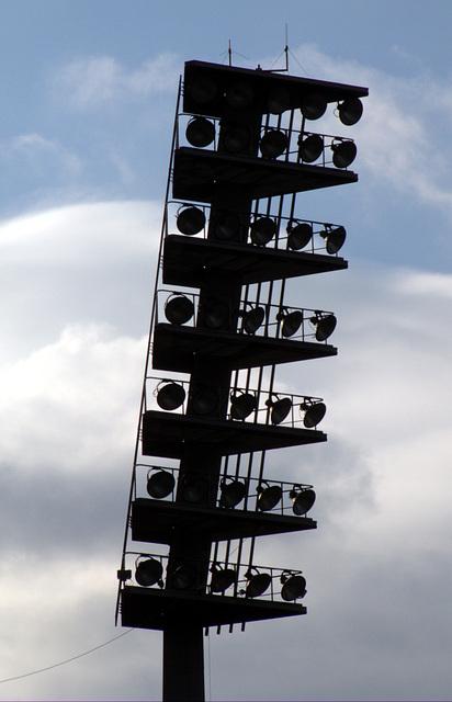 Flutlicht Erzgebirgsstadion