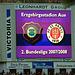 Die vom FC Schalke 04 gekaufte Anzeigetafel