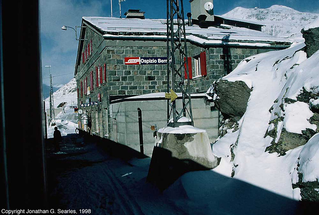 Ospizio Bernina Bahnhof (station), Ospizio Bernina, Switzerland, 1998