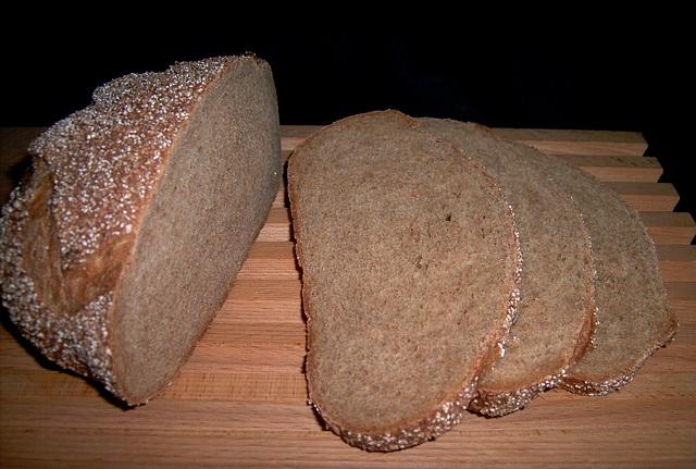 Golden Whole Wheat  Bread 2
