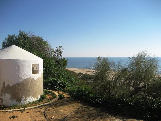 Algarve, sea view from Resort Praia Verde