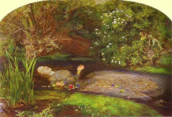 Ophelia, œuvre de John Everett Millais
