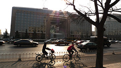 Beijing on bicycle