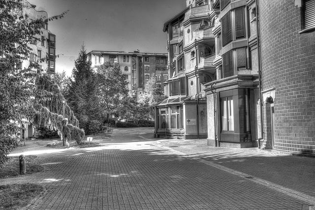 Le quartier des Schtroumpfs Genève (artistique)