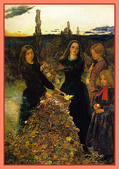 Autumn leaves, par John Everett Millais