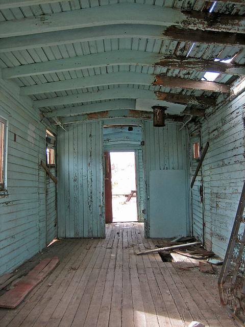 Rhyolite Train Car Interior (8665)