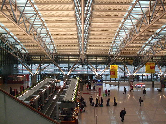 Hamburg, Airport / DSCF0158