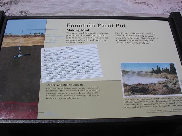 Fountain Paint Pot