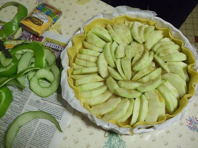 Tarte aux Pommes / DSCF0178
