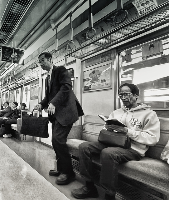 Two Japanese Business men