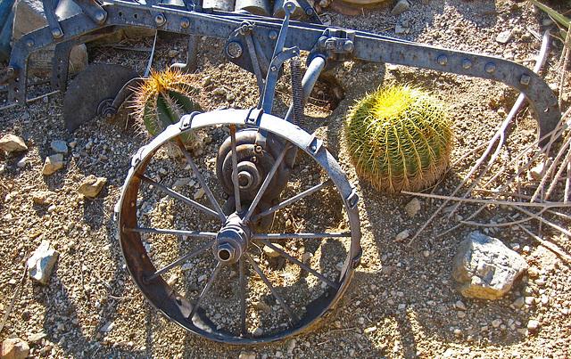 Cabot's Pueblo Museum Moline Plow (8207)
