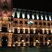 Hamburg townhall at night