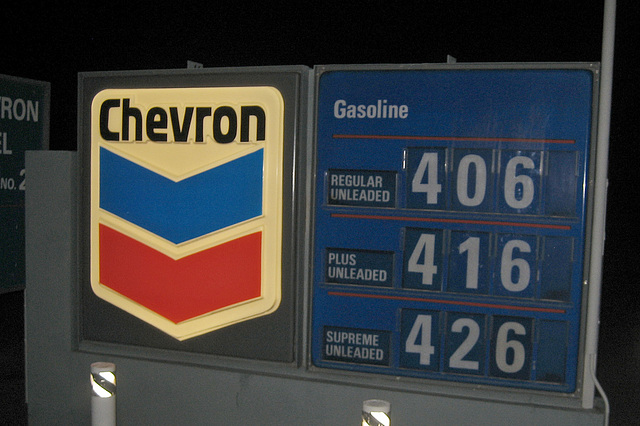 Furnace Creek Chevron Prices (8471)