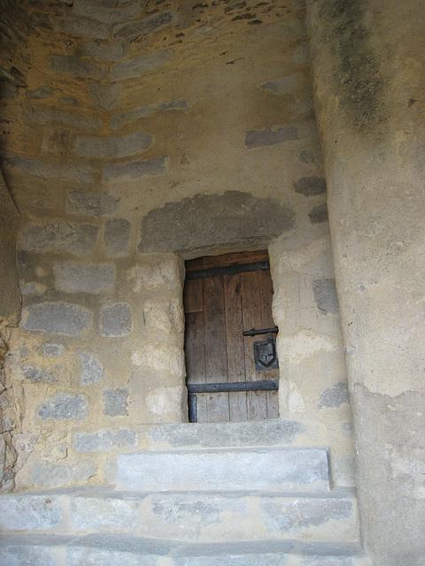 Château de Blandy - La tour de justice