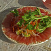 Excellent Sashimi prepared from freshly caught fish
