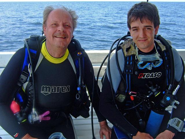 Erik and me