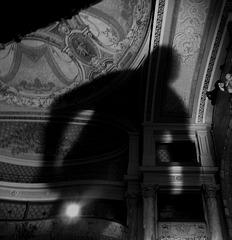 L'ombre d'un vieux théâtre