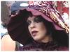 Cute and sexy Hatter / Jolie Dame à chapeau - Modifié avec microsoft photo editor - Disneyworld / 30 décembre 2006