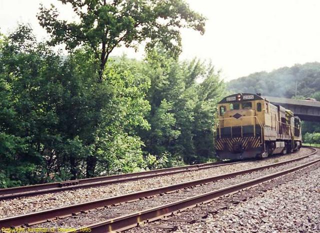 Reading & Northern #2398, West Leesport, PA, USA, 1995