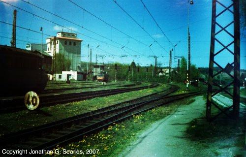Blueish Rail Yard, Cercany, Bohemia(CZ), 2007