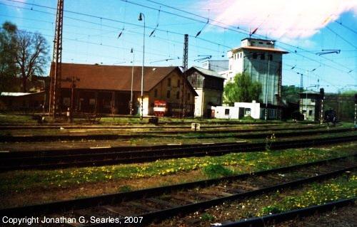 Blueish Rail Yard, Picture 2, Cercany, Bohemia(CZ), 2007