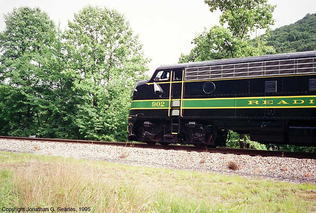 Ex-Reading #902, West Leesport, PA, USA, 1995