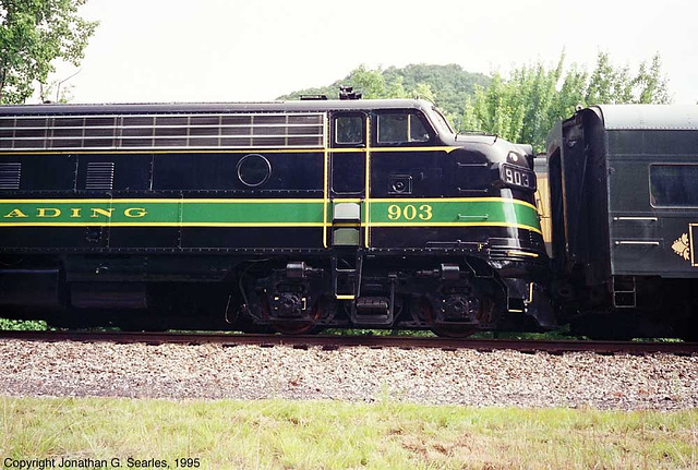 Ex-Reading #903 at West Leesport, PA, USA, 1995