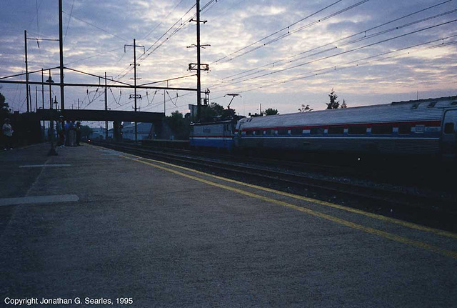 Amtrak #910, Picture 4, Lancaster, PA, USA, 1995