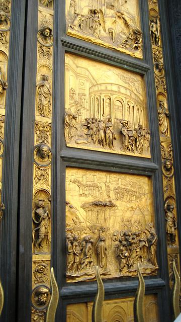 Florence, Baptistery golden gate