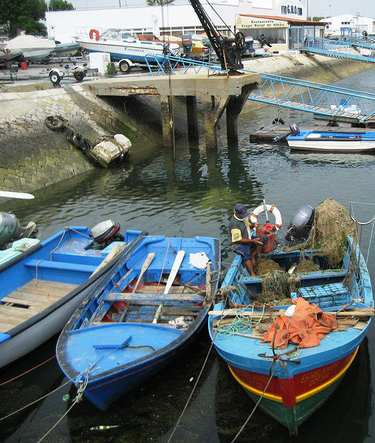 Algarve, Olhão, handcrafted's fishing